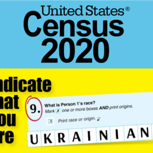 Input UKRAINIAN for Question No. 9 in the CENSUS