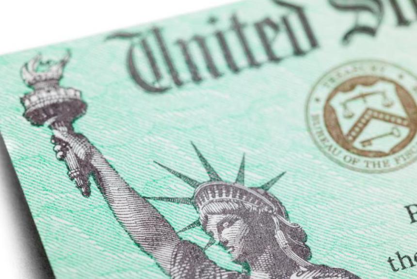 Economic Impact Payment Check