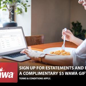 Get Rewarded for Enrolling in Estatements!